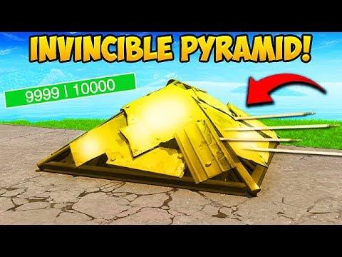 *NEW* SUPER OP PYRAMID TRICK! - Fortnite Funny Fails and WTF Moments! #381