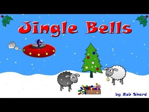 Jingle Bells - funny Christmas cartoon & song (Alien / Sheep Xmas animation)