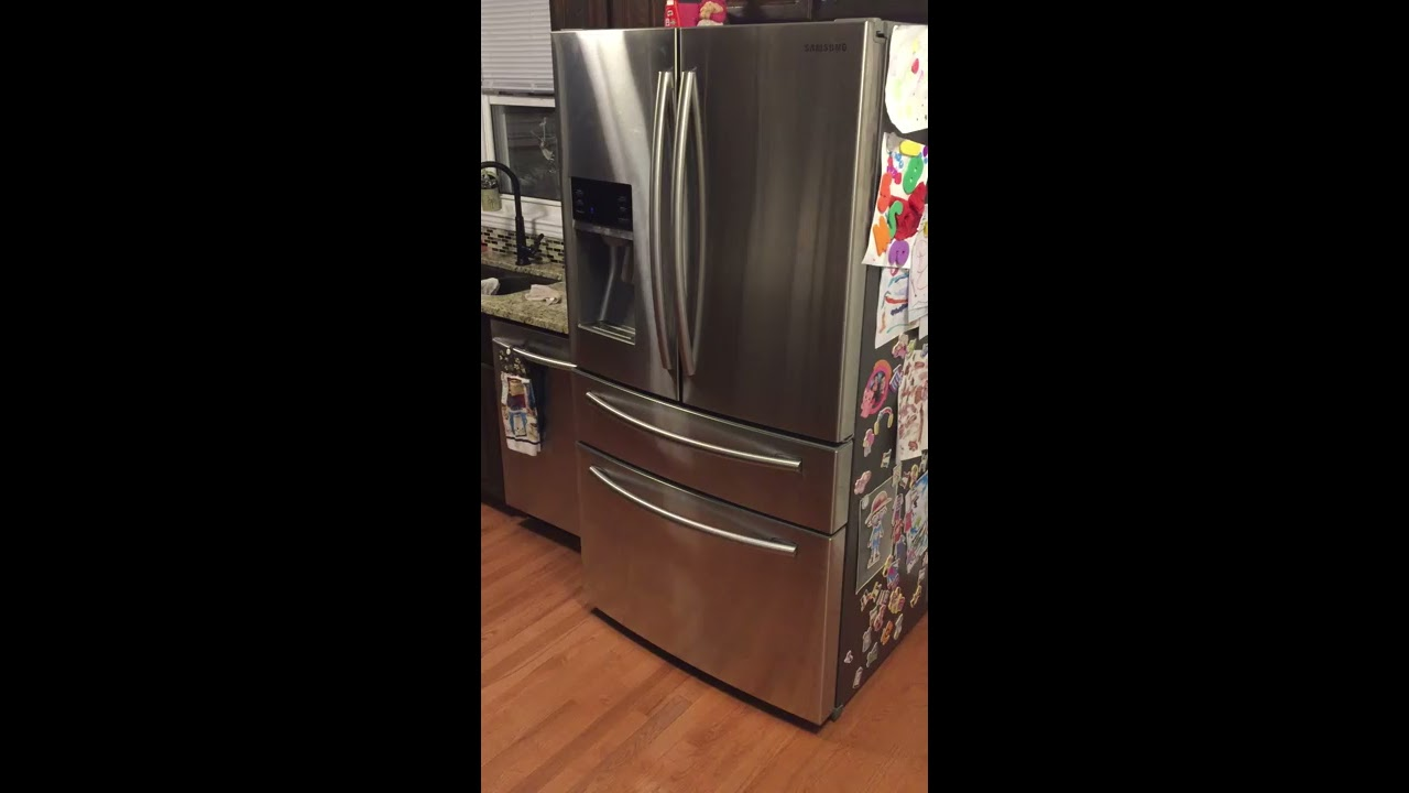 Samsung Fridge Ice Maker icing frosting up Fix    Maybe!