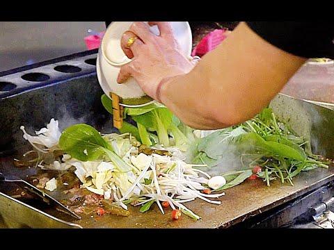 蒙古烤肉 Mongolian Barbecue/台灣夜市美食/Taiwan Street Food