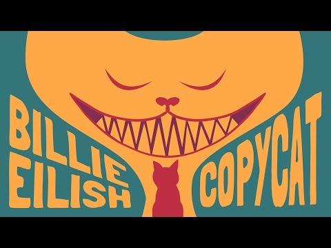 Billie Eilish - COPYCAT (Animated Lyrics)