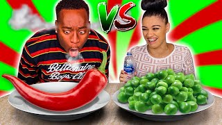 SWEET VS SPICY CHALLENGE 🌶️