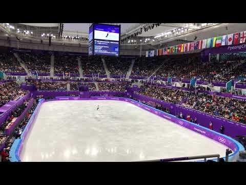 2018 평창동계올림픽 남자싱글 FS 하뉴 유즈루 Yuzuru Hanyu