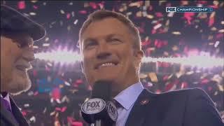 NFL on FOX StateFarm Post Game Show 2020 NFC Championship GB@SF