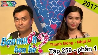 Phát sốt với cô gái xinh đẹp hát như đọc rap để tỏ tình bạn trai | Thành Đông - Nhật Ái | BMHH 259