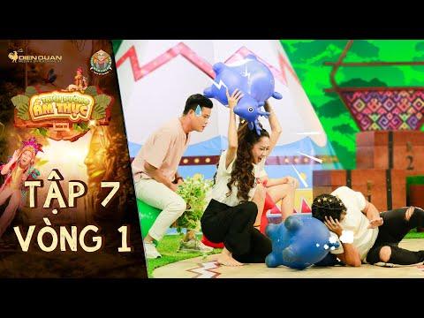 Thiên đường ẩm thực 6 | Tập 7 Vòng 1: Khương Dừa giả đau chân khiến Lê Minh Thành trở tay không kịp