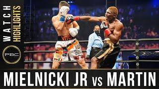 Mielnicki vs Martin HIGHLIGHTS: April 17, 2021- PBC on FOX