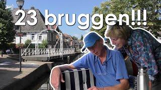 Weekendje varen langs Heerenveen en Akkrum #motorboot