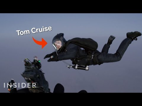 How Tom Cruise Was Filmed Jumping Out Of A Plane In 'Mission: Impossible — Fallout'