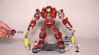Lego Marvel Super Heroes 76105 The Hulkbuster Ultron Edition Lego Speed Build