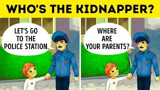 14 Signs That'll Help You Recognize a Child Kidnapper