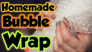 How to make bubble wrap at home||homemade bubble wrap|| gift wrap making||diy your paper|Sajal's Art