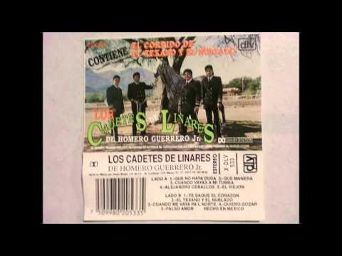 LOS CADETES DE HOMERO GUERRERO JR-EL TEXANO Y EL NUBLADO