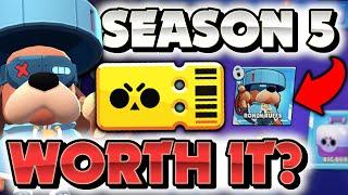 Is the Season 5 Brawl Pass Worth It? Season 5 Brawl Pass All Rewards & Analysis!