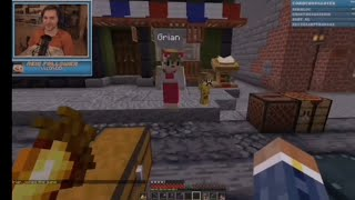 Hermitcraft 7|Grian shows off his skin collection | Scar funny stream highlight