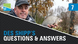 A thumbnail for the match fishing video The Des Shipp Q&A - Part 7!