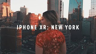 iPhone XR Cinematic 4k: New York City
