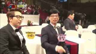 [Eng Sub] Yoo Jae Suk Meets VJ Kwon Ryul in another show & bickers with Kang Ho Dong