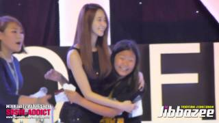 [Fancam] 131021 Jessica Yoona Seohyun with Lucky Fans @ GiRL Thanks Party By Jibbazee