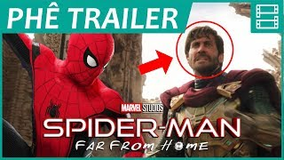 SPIDER-MAN: FAR FROM HOME - Phân tích trailer mới & Giả thuyết