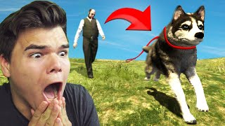 Playing GTA 5 As An ANIMAL!