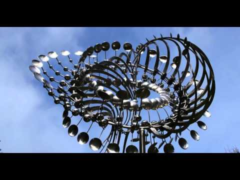 Lucea, a kinetic wind sculpture by Anthony Howe of Orcas Island, Washington, is an example of the work done by Mr. Howe who designed the Rio 2016 Olympic cauldron, debuting at the Opening Ceremonies on Friday, August 5, 2016.