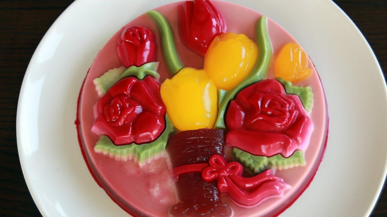 Coconut Jelly Cake Recipe: Rau Câu Khuôn (Recipe)