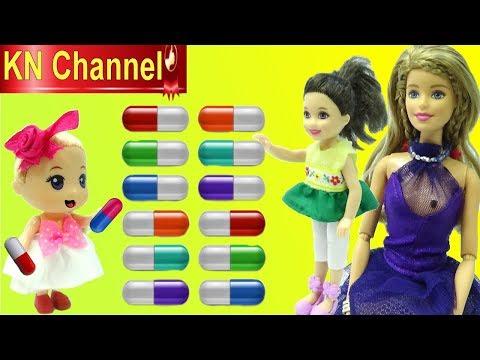 Đồ chơi trẻ em VIÊN THUỐC TO LẮM KHÔNG UỐNG ĐÂU !!! Sponge in capsule SEA CREATURES カプセル入りスポンジ