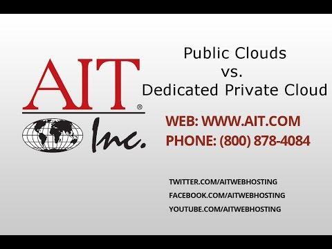 Public Clouds vs  Dedicated Private Cloud