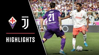 HIGHLIGHTS: Fiorentina vs Juventus - 0-0 - Bianconeri draw in Sarri's first game on the bench