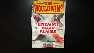 Who Would Win? Ultimate Ocean Rumble