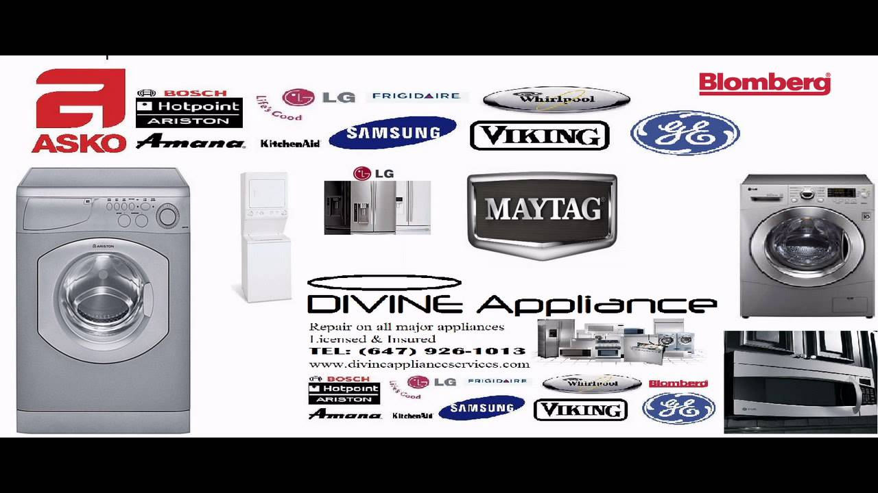 Appliance Repair Toronto Mississauga Ariston Lg Samsung