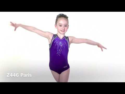 Paris Sleeveless Gymnastics Leotard