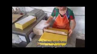 KINGREAL Beeswax Foundation Production Line