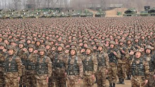 Chinese army puts on show of military might for Xi Jinping