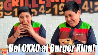 """mmmm"" Nuevo video del NIÑO del OXXO, Niño del OXXO es ahora NIÑO del BURGER KING ""mmmmm"""