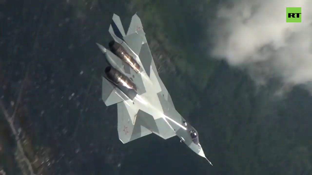Запредельный пилотаж Су-57