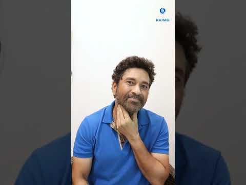 Sachin Tendulkar presents his new look through a reel