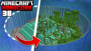 I Transformed an Ocean Monument in Minecraft Hardcore (#38)