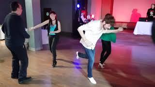 Social dancing at Salsa Night Awards 2017 Friday night