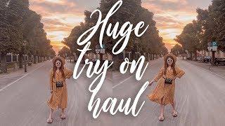 HUGE TRY ON HAUL: Primark, H&M, TK Maxx, Birkenstock, Stradivarius...