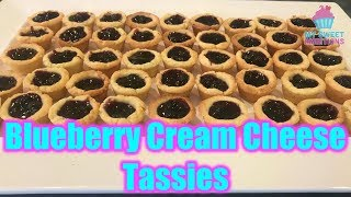 Blueberry Creamcheese Pie Tassies