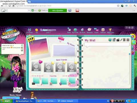 Moviestarplanet Hack FREE V I P Sc Diamonds No Download! 2014 HD