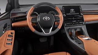سيارة تويوتا افالون 2019 بالقوة التكنولوجيا اليابانية المتطورة ...