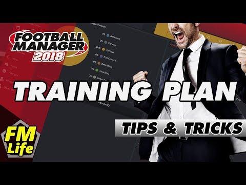 Football Manager 2018   Training Plan   Tips & Tricks