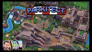 Trying out Parkitect Multiplayer! | Part 1 | Parkitect Multiplayer with Sdanwolf