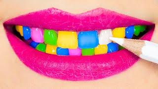 Sneak XXL Candy in Class! Giant Edible School Supplies!