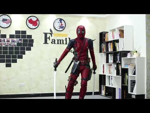 Deadpool 2 latest costume detail