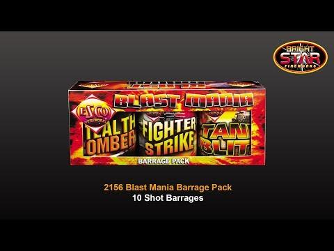 Blast Mania Barrage Pack