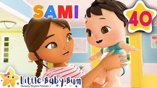 Name Song | Fun Learning with LittleBabyBum | NurseryRhymes for Kids